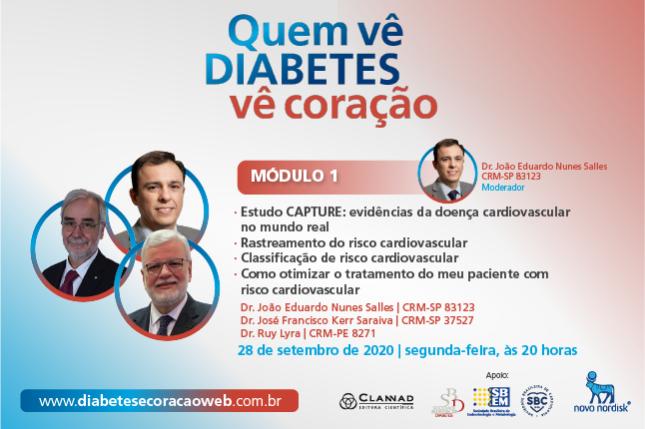 Diabetes e Coração Web - Módulo 1