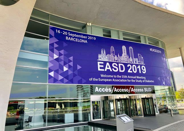 EASD 2019 em Barcelona