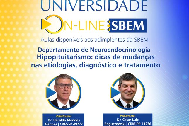 Universidade Online SBEM: Hipopituitarismo
