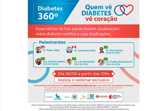 Webinar Quem Vê Diabetes Vê Coração