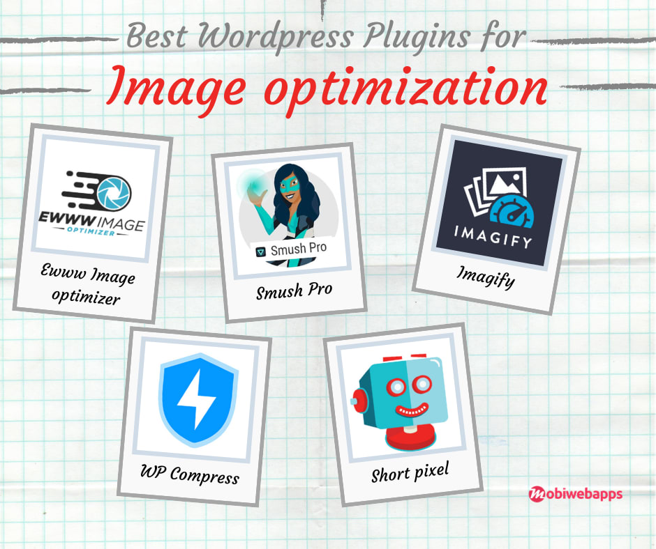 Plugins for image optimization - wordpress speed optimization