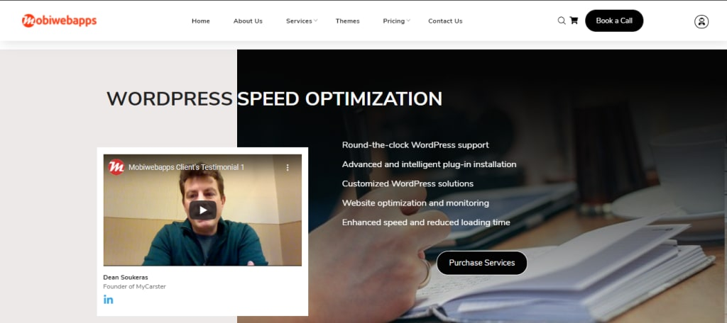 wordpress speed optimization website-mobiwebapps