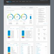 Homepage/dashboard UI design