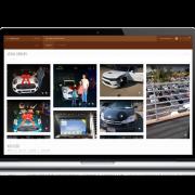 Media management page