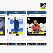 Instagram Carousel Ad created for MTV (while working at my former organization)