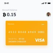 BitPay was a sole project executed solely by me. The designs were for a bitcoin wallet that was integrated into the everyday services the average user needs.
