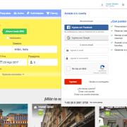 Despegar (take off): web travel agency (biggest one on LATAM).  URL: http://despegar.com/ Techs: Ruby on Rails postgres redis ERB coffescript scss