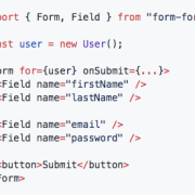 FormFor code sample