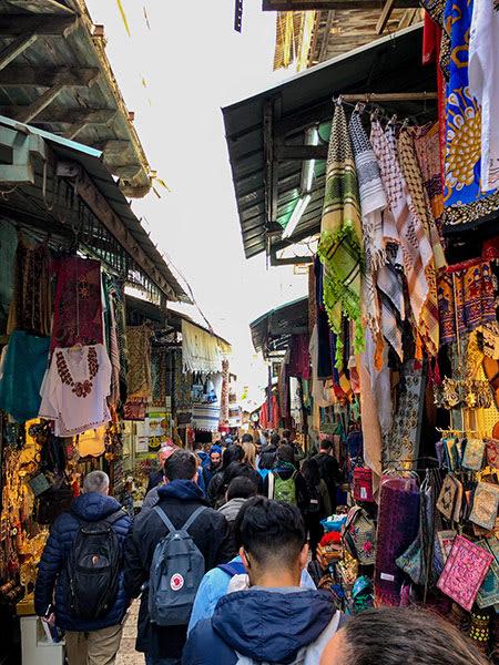 Old City Jerusalem market