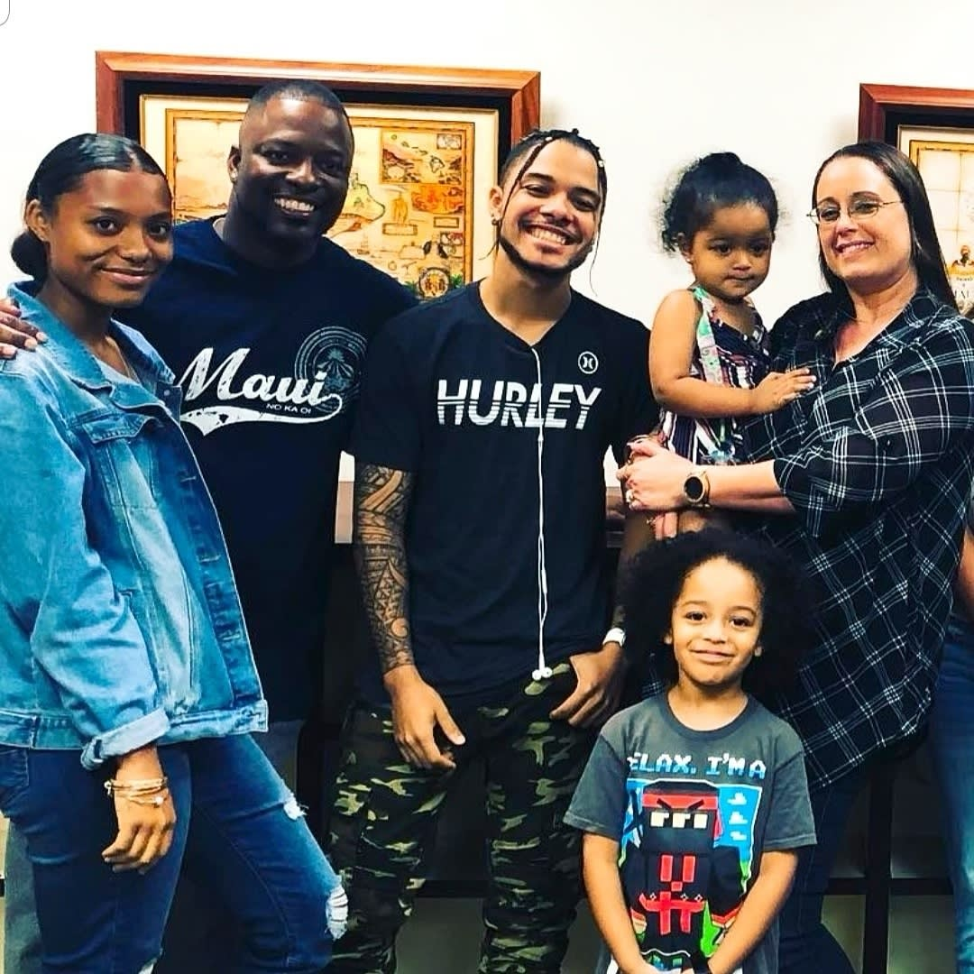 HIP client, Roynes Dural, and his family.   Roynes served 8 years of his 20-year sentence before his case was finally dismissed.