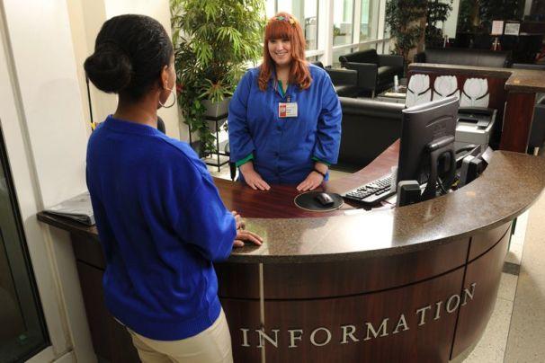 Information Desk at Winship