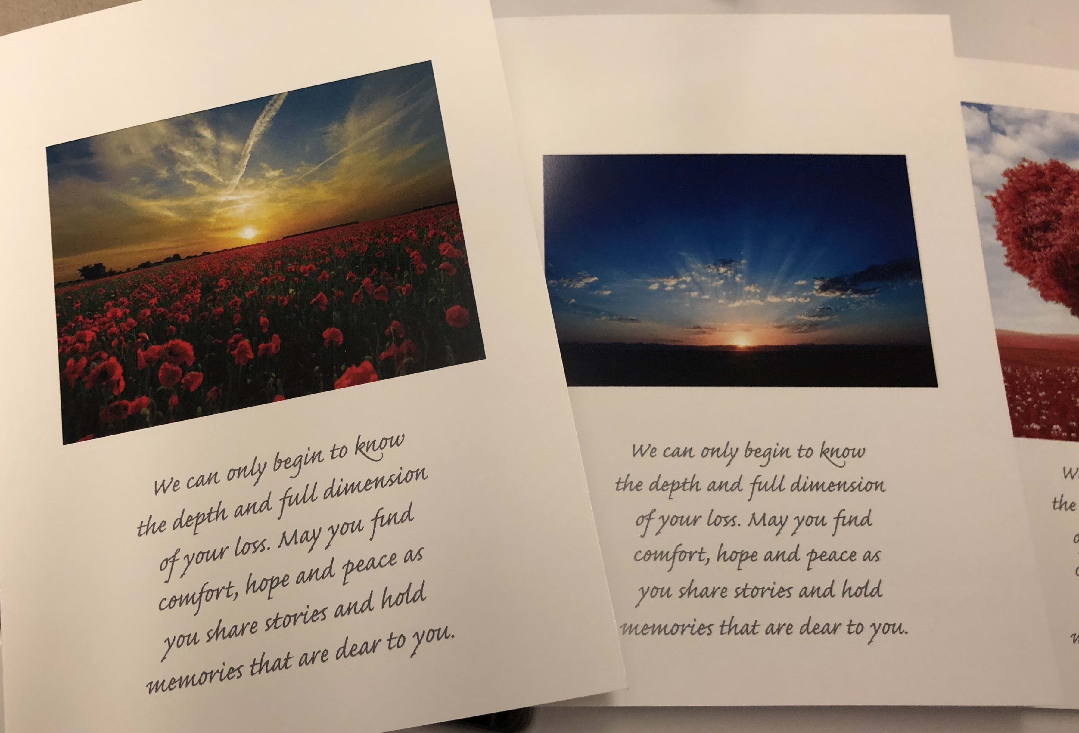 Sympathy Cards for Family Members
