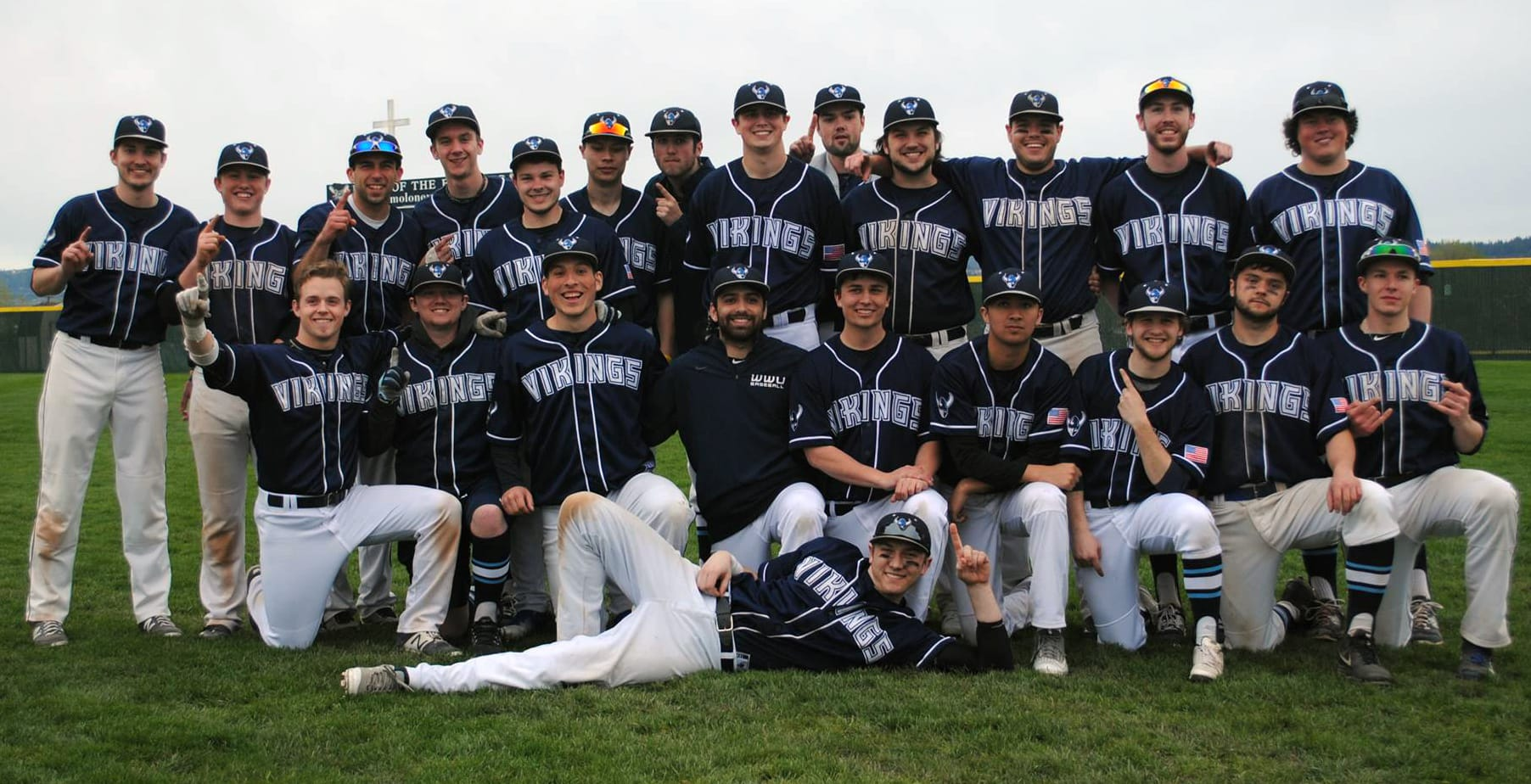 2018 WWU Baseball Team