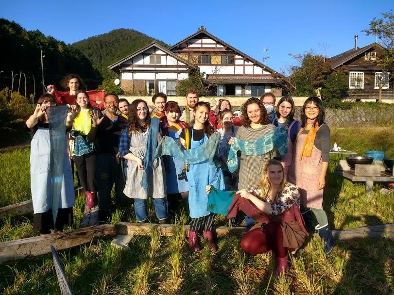 Art students visit Japan