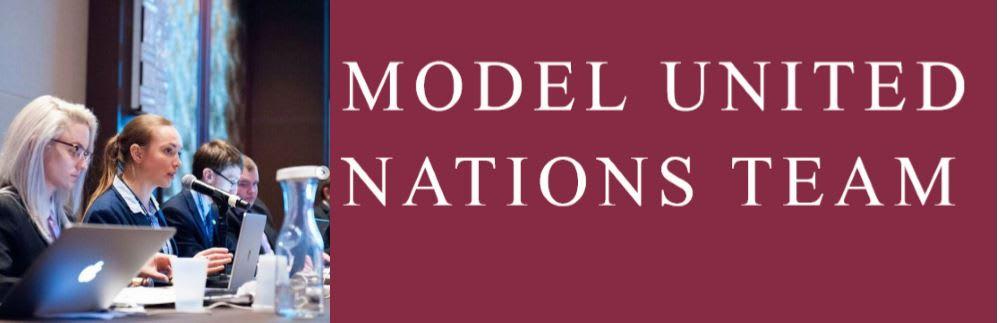 Model UN Banner
