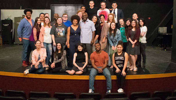 UNLV theatre students call the Paul Harris home.