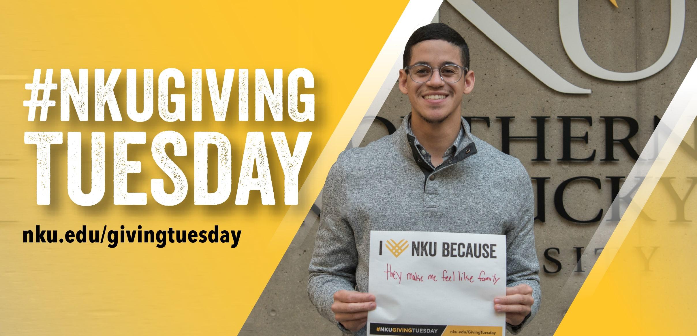 #NKUGIVINGTUESDAY nku.edu/givingtuesday