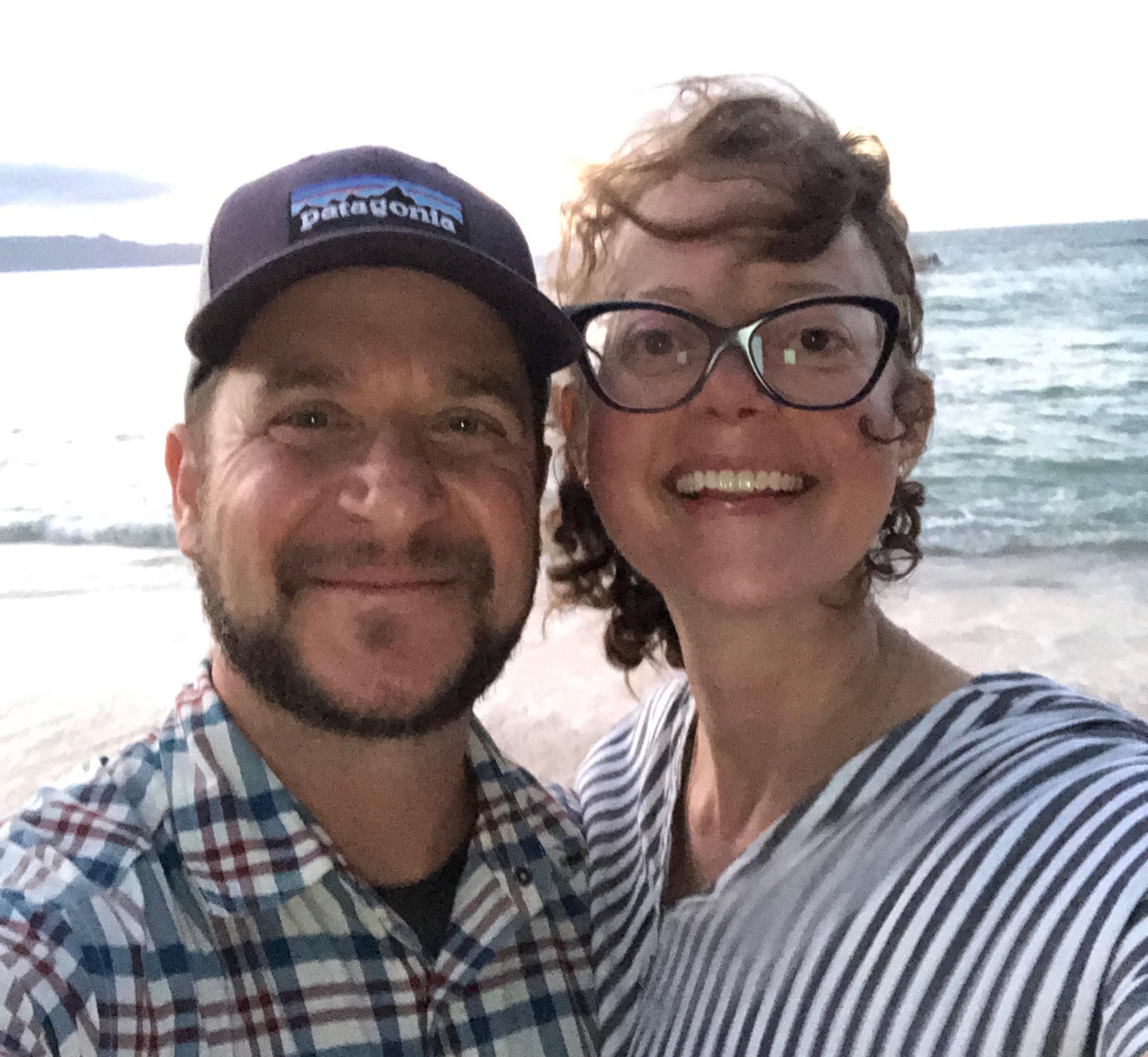 Jessica and Yani in Hawaii