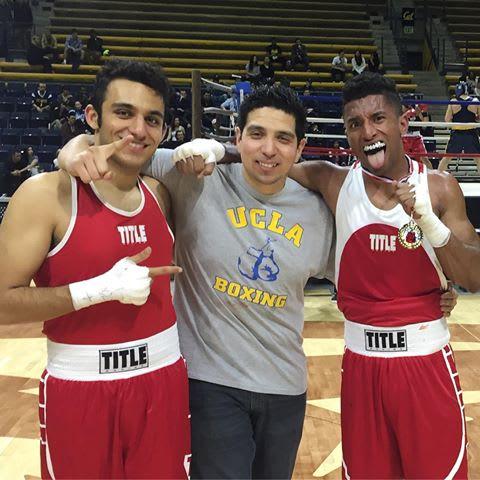 UCLA Boxing Head Coach: Tony Gonzalez