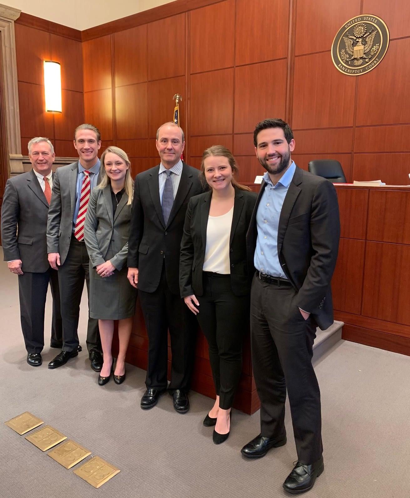 UA's Trial Advocacy Team