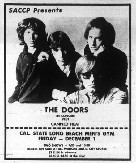 The Doors at UCLA
