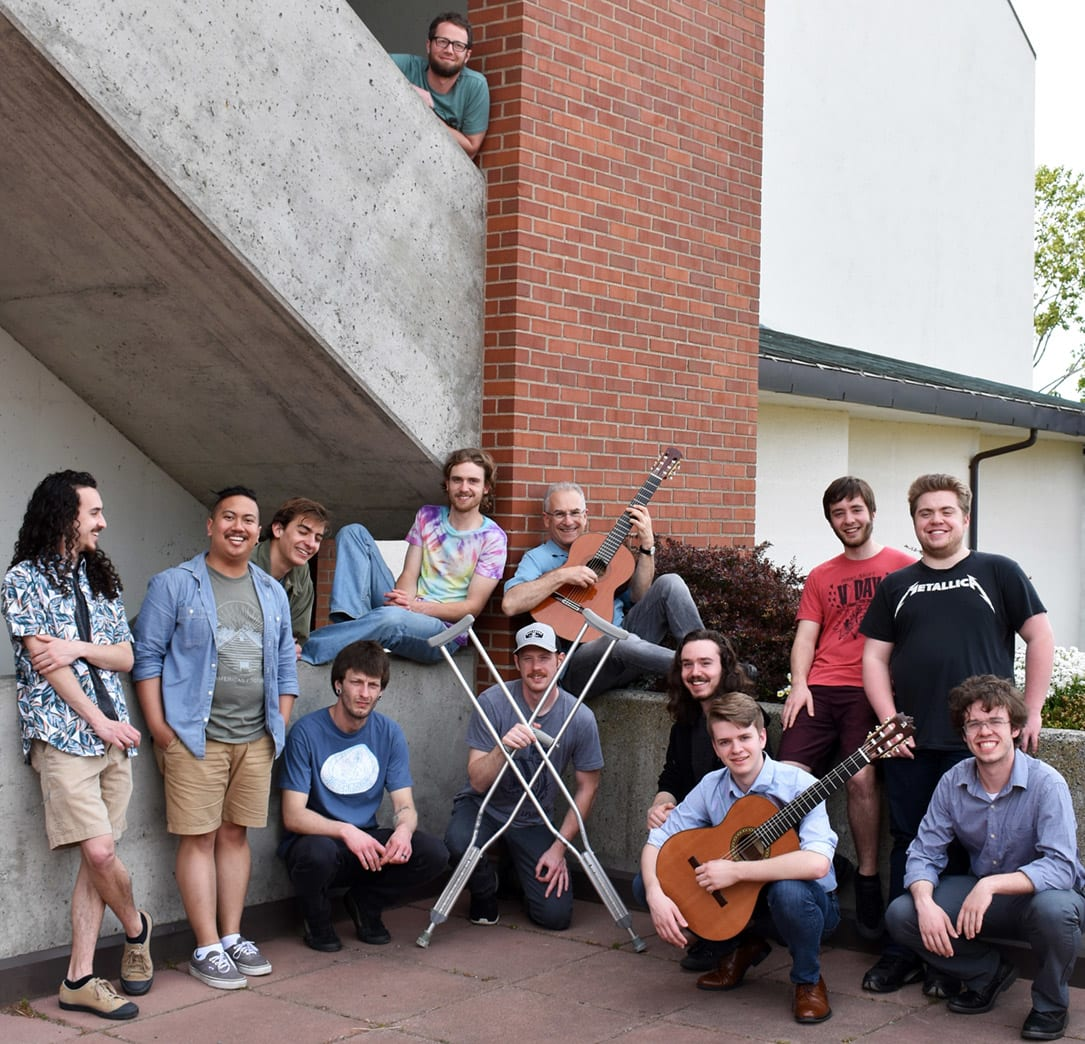 David Feingold and the Guitars of Western outside the WWU Performing Arts Center
