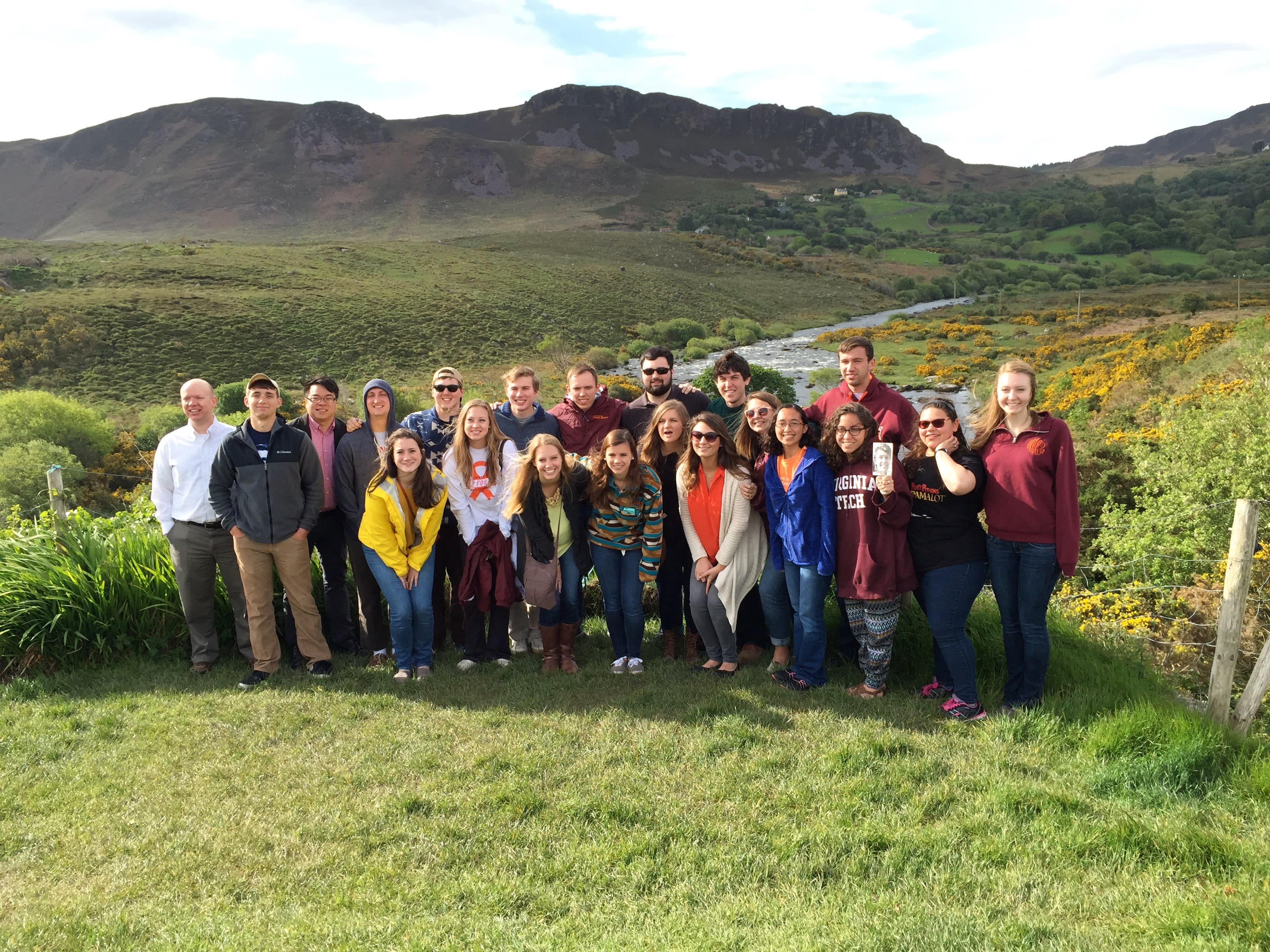 VT Chamber Singers in Ireland