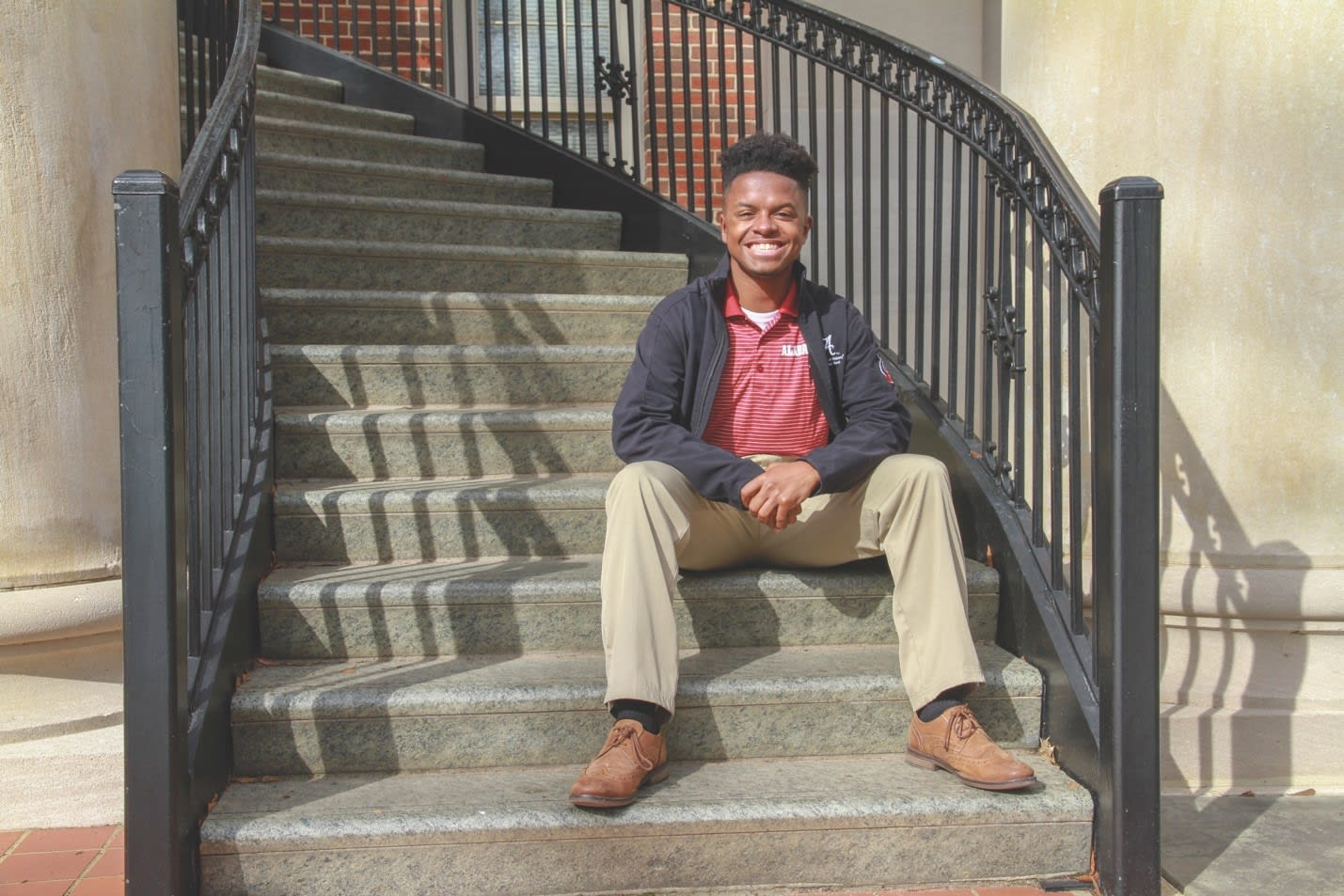 Marquis Hollingsworth, UA student