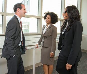 Photo of Wayne Law students