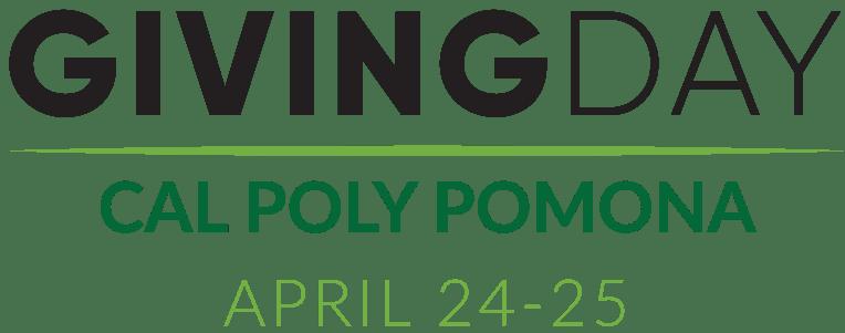 Giving Day, Cal Poly Pomona, April 24-25