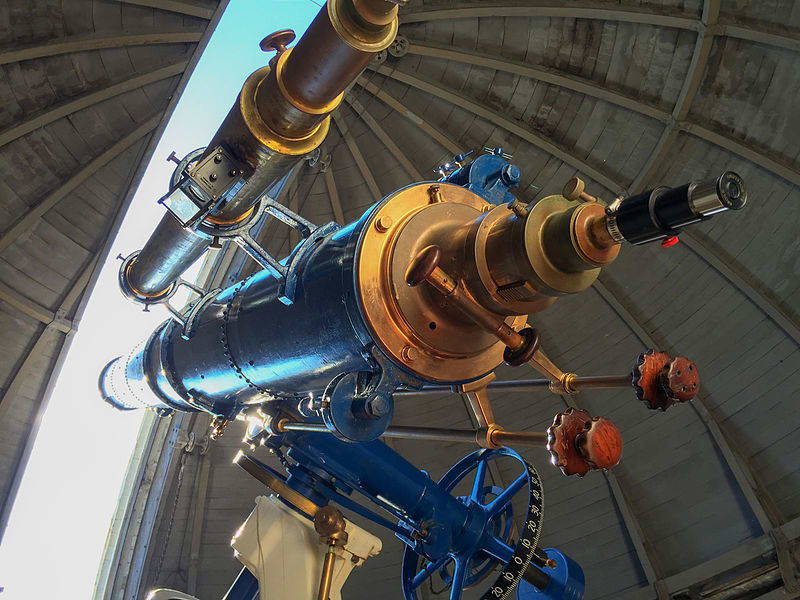 The Irving Porter Church Memorial Telescope at Fuertes Observatory
