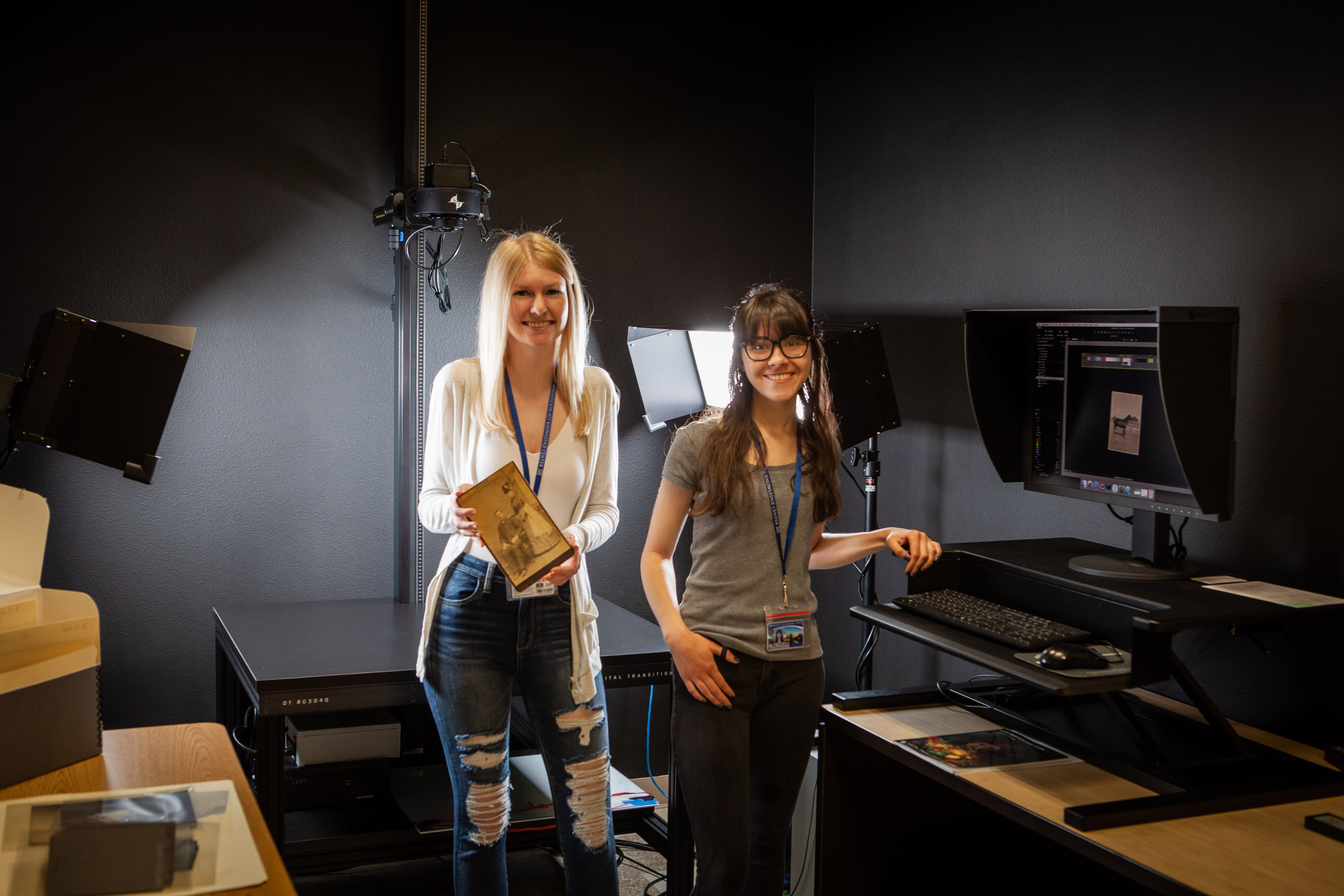 Students in Digital Services Lab