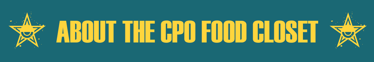 About the CPO Food Closet