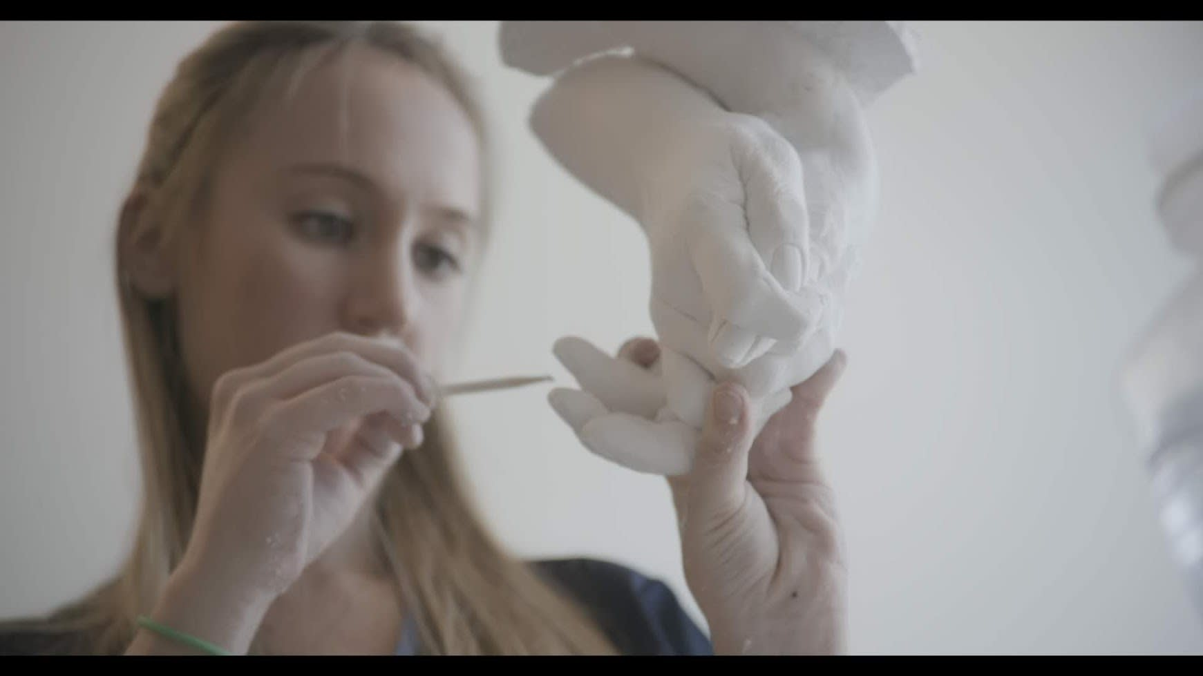 Documentary Still - Hand Cast