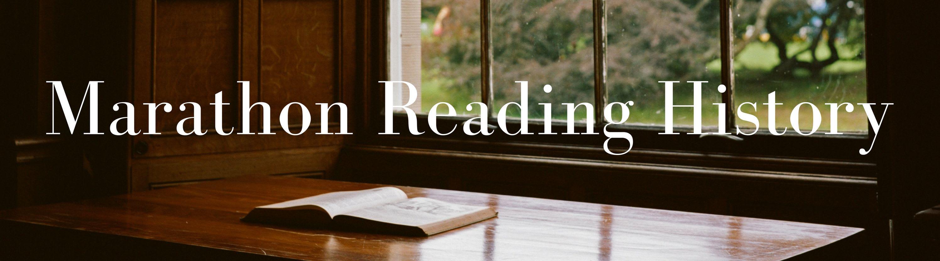 Marathon Reading History