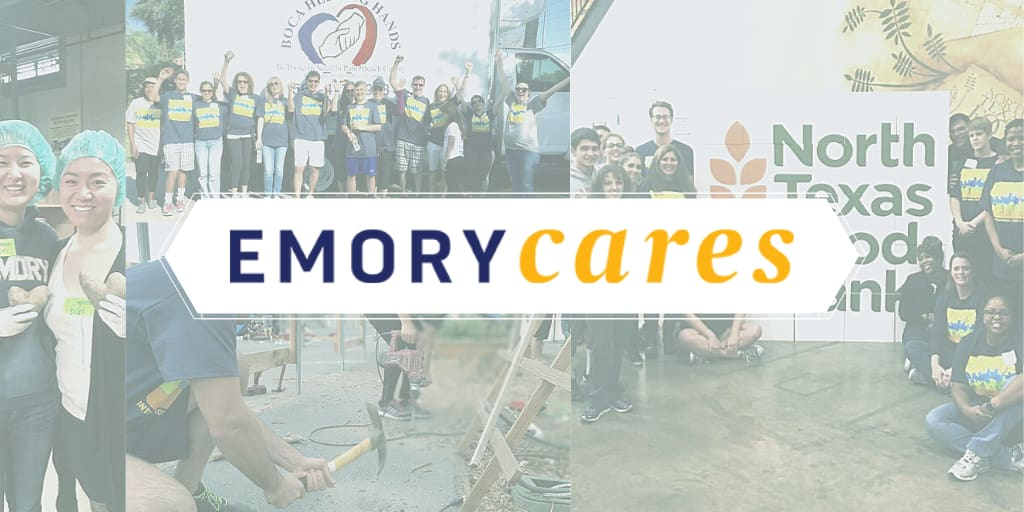 Emory Cares logo