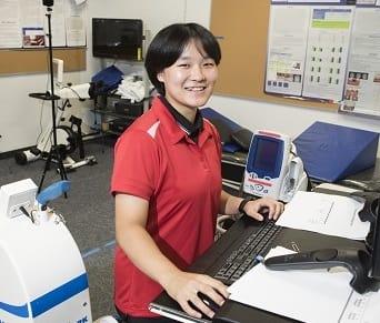 CSUN Kinesiology Student Eunbi Lee