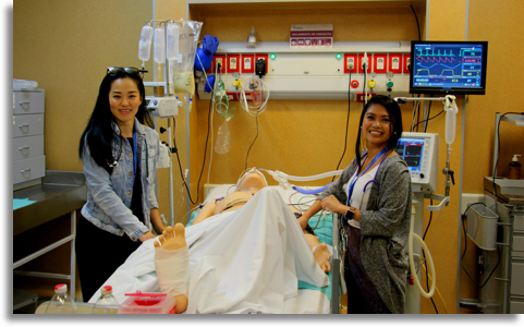 Students participate in simulation in Argentina