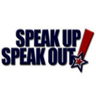 Speak Up! Speak Out! Logo