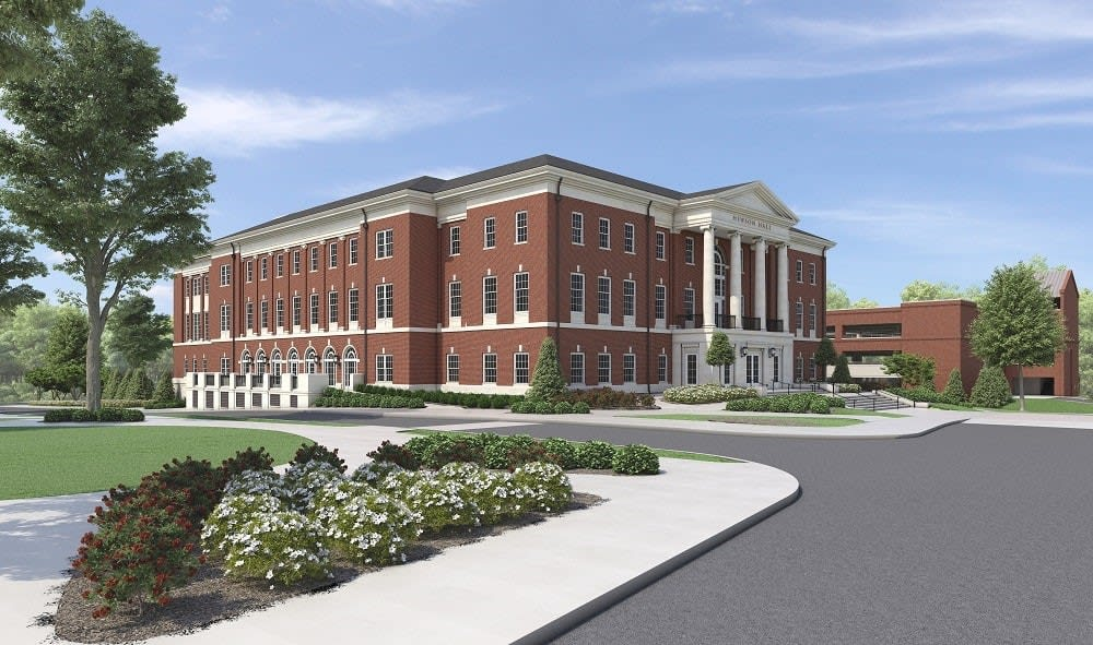 Rendering of Hewson Hall, Front