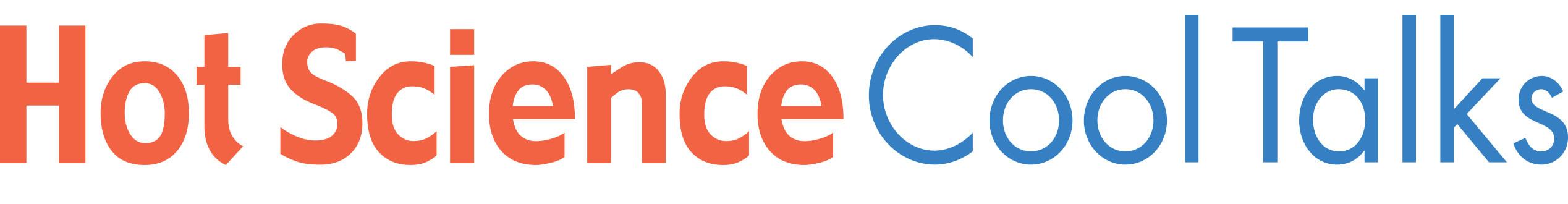 Hot Science Cool Talks logo