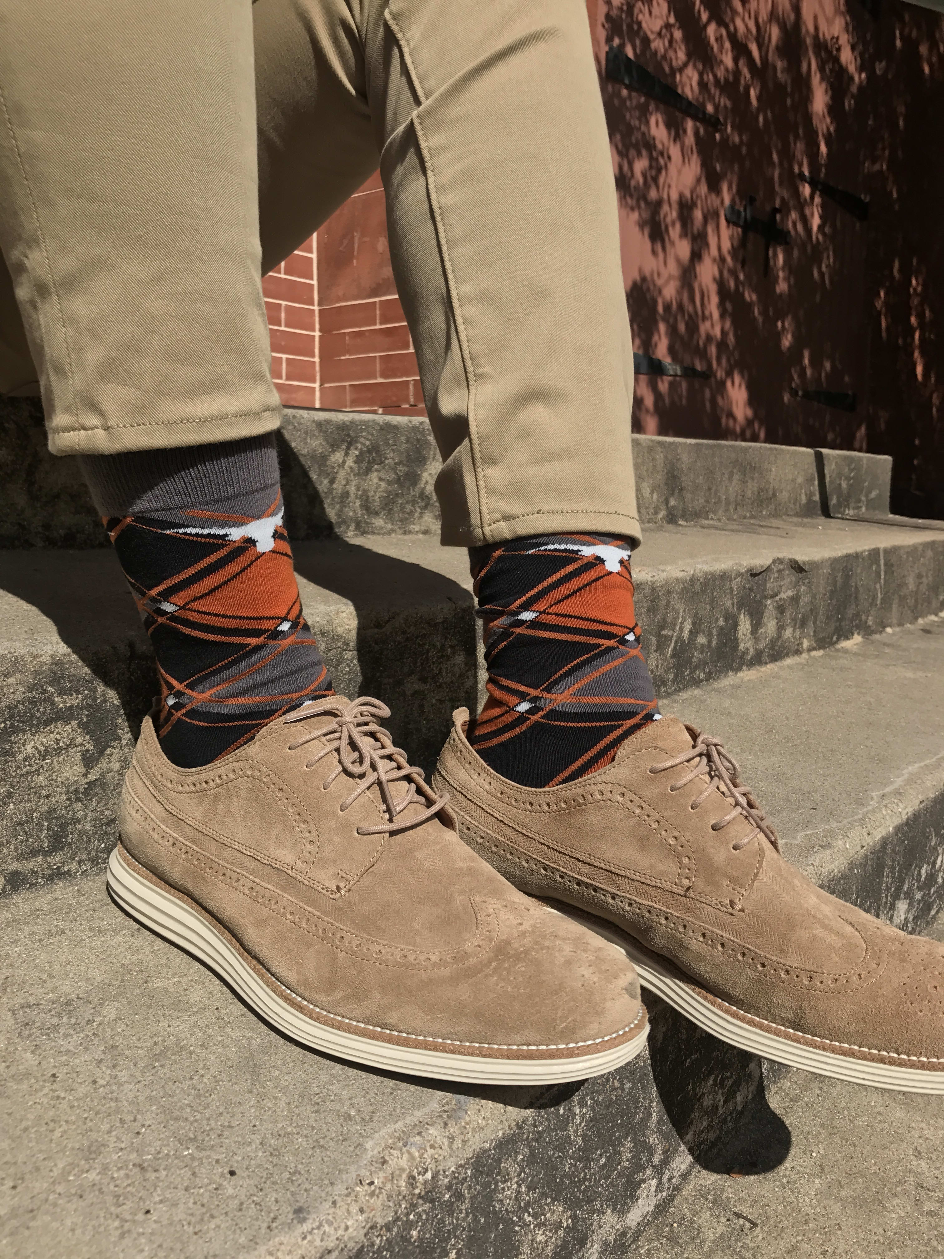 Contributions of $18.83 or more will receive a pair of UT socks!