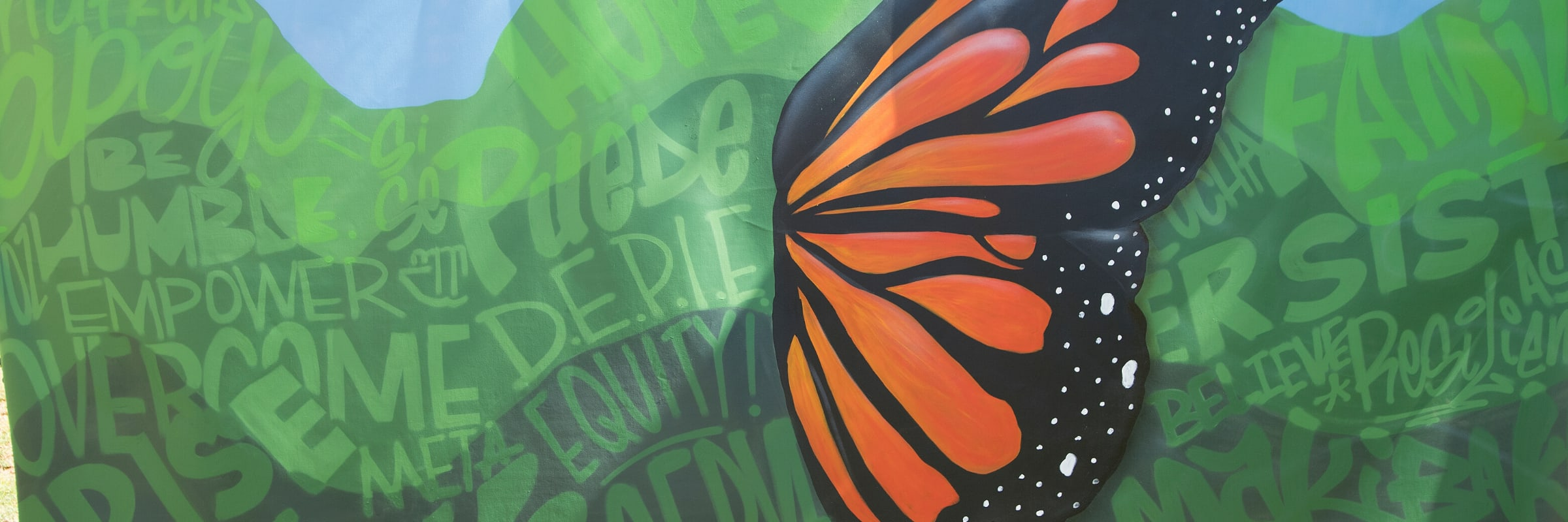 Undocumented Students Mural