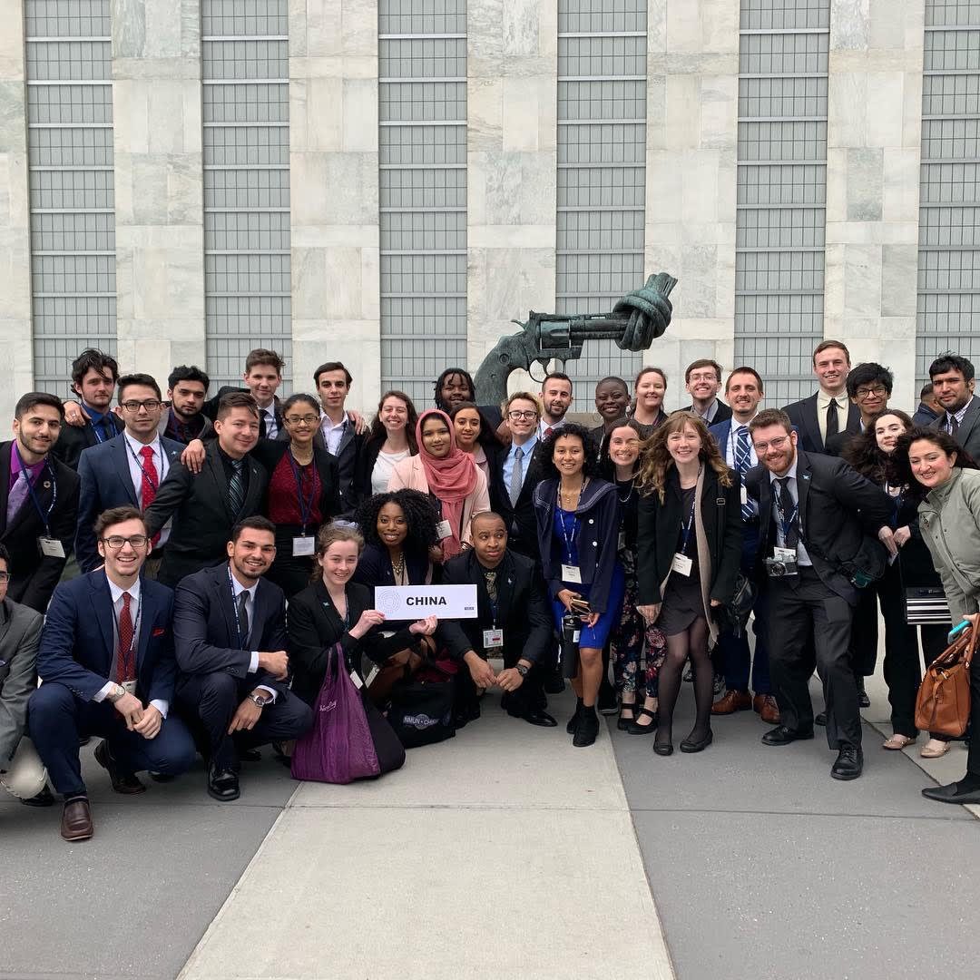 Model UN in New York Spring 2019