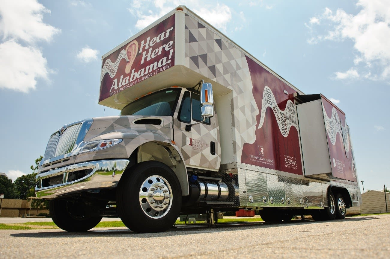 Hear Here Alabama mobile clinic