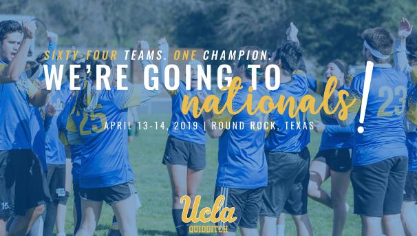Help UCLA Quidditch #FlyToFirst! Image