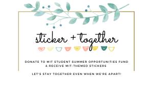 MIT Sticker+Together
