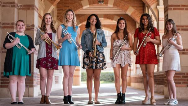 First All-Female Trumpet Ensemble Heads to National Competition Image