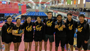 Cal Table Tennis Road to NCTTA Nationals