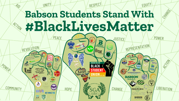 Babson Students for Black Lives Matter Image
